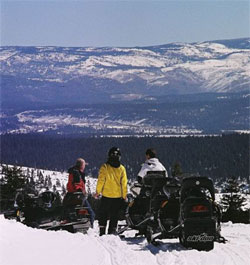 Reno snowmobiling, Sierra Adventures, Nevada, NV